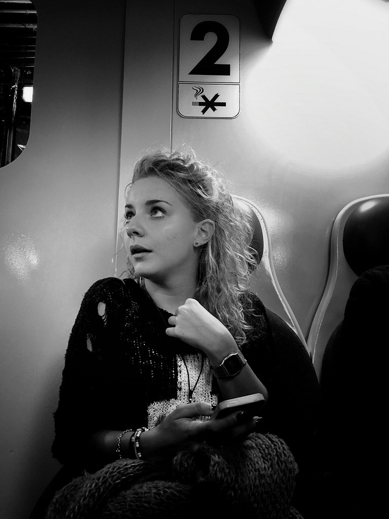 Young Commuter