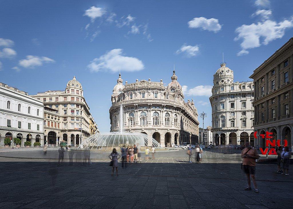 Genoa - Piazza De Ferrari
