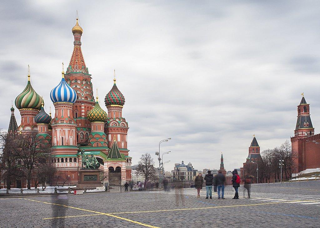 Moscow - Pokrovsky Cathedral (Saint Basil)